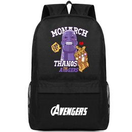 39cc550078a3 Thanos backpack Monarch king daypack Strong man schoolbag Leisure rucksack  Sport school bag Outdoor day pack