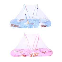 1pc Baby Cot Bed Canopy Mosquito Net 0-2 Years Baby Bed Net Portable Folding Travel Crib Tent With Pillow Kids Children  sc 1 st  DHgate.com & Kids Tent Beds Australia | New Featured Kids Tent Beds at Best ...
