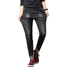 $enCountryForm.capitalKeyWord Canada - YG6003-XT1402 2018 spring autumn new Korean men's fashion trend casual small straight tube slim jeans cheap wholesale