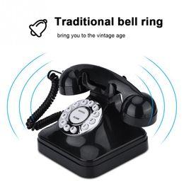 Antique Home Telefon Retro-Draht Festnetz Telefon Retro-Telefone