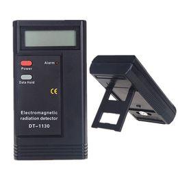 Wholesale DT-1130 Portable Electromagnetic Radiation Detector Electronic Radiation Monitor Digital EMF Meter Dosimeter Tester Meter CE Certificated