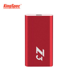 hard drive state 2019 - Z3-256 KingSpec 240gb External Portable SSD Hard Drive 256gb USB 3.1 Type-c Portable Solid State Disk Usb 3.0 hd externo