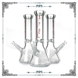 Water Bongs 9mm Australia - Sheldon Black 9mm Thick glass water bong heavy Beaker bongs with thick ice catcher cool bong for smoking glass water pipe hookah Wholesale