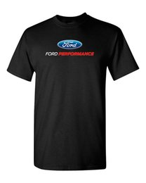 Cars ford gt online shopping - Ford Performance American Classic Shelby Saleen GT Muscle Car Men T shirt Sleeves Boy Cotton Men T Shirt T Shirt Men Loose Size T Shirt