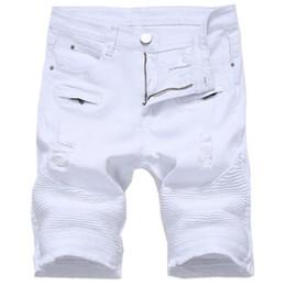02d6fdcde4 Pantalones Vaqueros Rectos Blancos Rectos Para Hombres Online ...