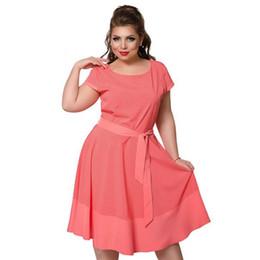 faa97d1563 Wrap Up Warm Plus Size Women Clothing 6xl UK - 2018 Summer Dress Polka Dot  Cute Beach Dress Plus Crepe Culottes Cheap ...