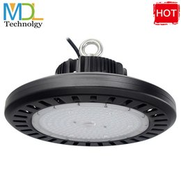 High quality 150w 200w 250w 300w UFO LED high bay light IP65 Retrofit highbay lamp Fixture Industrial LED Hangar High Bay Lamp from cree gas station light suppliers