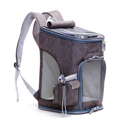 $enCountryForm.capitalKeyWord UK - Pet Dog Carrier Backpack Foldable Mesh Breathable Carrier Outdoor Travel Shoulder Bags for Small Dog Cats Chihuahua Pet Handbag