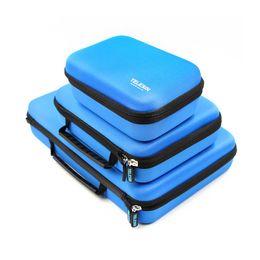 Discount xiaomi yi accessories - TELESIN Storage Carry Case Protective EVA Box for Hero 6 5 4 3 2, SJ4000 SJ5000 Xiaomi YI 4K Accessories Camera Hand Bag
