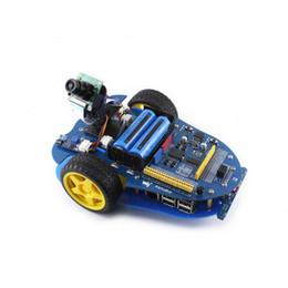 $enCountryForm.capitalKeyWord Australia - Freeshipping Raspberry Pi 3 Model B + AlphaBot + Camera AlphaBot Smart Car Raspberry Pi Robot Building Kit Open Source Resources Design