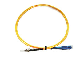 Optical Fiber Patch Cable UK - SC UPC TO ST UPC SM 1 Meter 2 Meter 3 Meter 5 Meter Single Mode Optical Fiber Patch Cord 3.0mm Simplex
