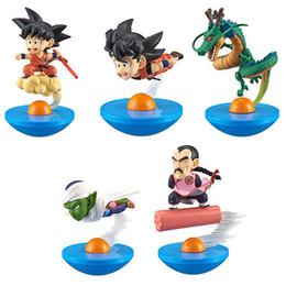 Doll vegeta online shopping - Huong Anime Dragon Ball Z SET Son Goku Vegeta PVC Action Figures Collection Model Daruma Doll Tumbler Toy