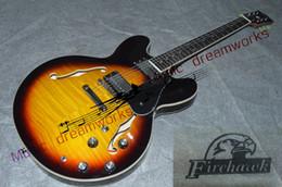 Electric Guitar 335 NZ - 2017 Guitar 335 Vintage sunburst electric guitar new arrival