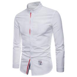 $enCountryForm.capitalKeyWord Australia - New Men's Dress Shirts Long Sleeve Fall Winter Cotton Slim Fit Shirt Male Wedding Party Men S Poloshirts Casual Formal Clothing Stock