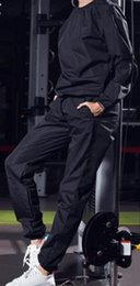 Body Fitness Suit Australia - Sweat and body control suit sweat and body control suit men running fitness fall new big size sweat suit