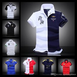 3f47a543f 2017 Summer Brand New Mens p6 T-shirts High Quality 100% Cotton AERONAUTICA  Militare Polo shirts Air Force One Italy Sports Shirts Tops