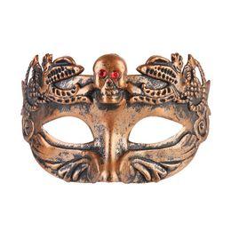 $enCountryForm.capitalKeyWord NZ - New arrival Retro Greco Roman Mens Mask for Mardi Gras Gladiator masquerade Halloween Vintage half face Mask Carnival 3D carved jazz Masks