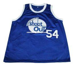 b93fb4224 wholesale Kyle Watson  54 Tournat Shoot Out New Basketball Jersey Blue  Stitched Custom any number name MEN WOMEN YOUTH BASKETBALL JERSEYS
