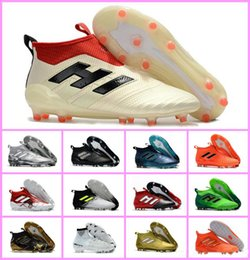 f56b206276f ace 17 purecontrol FG ace 17.1 Crampons de football boots mens high top  ankle soccer cleats dragon soccer shoes outdoor chuteiras men