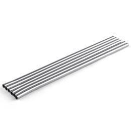 $enCountryForm.capitalKeyWord UK - 215MM Stainless Steel Straight Drinking Straw length Durable Straws Metal Bar Family kitchen Free Shipping