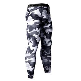 China 14 Colors Brand Camo Compression Pants Men Sport Wear Jogging Pants Men Sporting Leggings Training Gym Man Running Shorts supplier colors grey pants suppliers