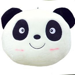 stuffed animal panda 2019 - Plush Doll Toy Stuffed Animal Panda Soft Pillow Cushion Bolster Home Living Room Decor discount stuffed animal panda