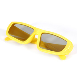 Passive Polarized 3d glasses online shopping - New Fashion D glass Adult Kid Passive Polarized D glasses For Ready Televisions TV Movie theaters