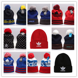 Wholesale New AD Islanders Hockey Beanies Team Hat Winter Caps Popular Beanie Caps Skull Caps Best Quality Sports Cap