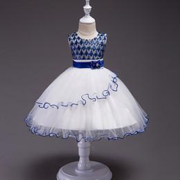 Опт Новое платье для девочки с блестками и вечернее платье с круглым вырезом - платье принцессы с воланами неправильной формы. Слово оптом и в розницу
