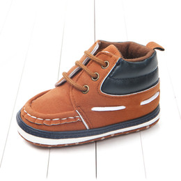 Discount new sport baby walker - Dosoma Autumn New Patch Sports Casual Baby Shoes Boys Lace-up First Walkers Sneaker Cotton Fabric Soft Sole Shoes For Ba