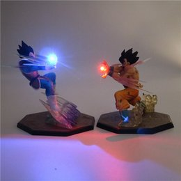 China Z Son Goku Anime Night Light PVC Action Figure Collectible DIY Table Lamp 3D Model DBZ Toy for Kid Baby cheap night light toys for babies suppliers