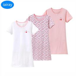 ebdb3ea628f5 iairay 3 pcs fashion girl cotton sleeping dress girls nightgown sleepwear  pyjamas kids sleepwear children pajamas dressing gown