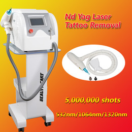 Laser Tattoo Removal Ce NZ - tattoo removal laser equipment nd yag laser machine Best Professional with 5,000,000 Shoots CE approval USA imported laser lamp