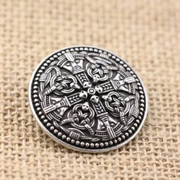 Wholesale costume national for sale - Group buy 10pcs Norse Vikings Amulet Brooches Sweden National Costume Brooches Viking brosch with gripping beast jewelry Talisman