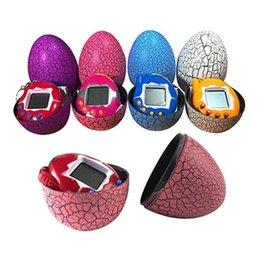 handheld mini games 2019 - Dinosaur Egg Tamagotchi Virtual Digital Electronic Pet Game Machine Tamagotchi Toy Game Handheld Mini Funny Virtual Pet