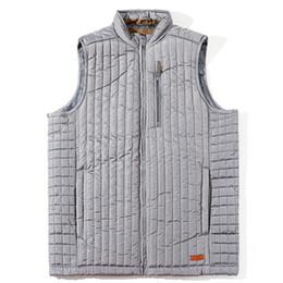 China MADHERO Vest Men Lightweight Gray Men's Waistcoat Warm Sleeveless Jacket Plaid Lining With Inside Pocket European Size Outerwear cheap jackets pockets inside suppliers