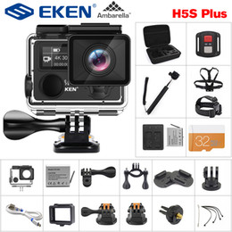 $enCountryForm.capitalKeyWord Australia - wholesale H5S Plus Action Camera HD 4K 30fps EIS with Ambarella A12 chip inside 30m waterproof 2.0' touch Screen sport camera