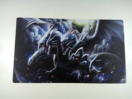 yugioh cards games Australia - BLUE EYES ULTIMATE DRAGON YUGIOH VG MTG Playmat Trading Card Game Mat free shipping
