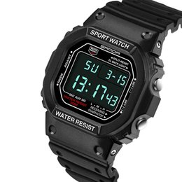 Water resistant sport Watches Women online shopping - 2018 Best Selling Watches for Man Male LED Display Back Light Sports Watches G Style Shock Watches Men Women Couple Wristwatches Gift Clock