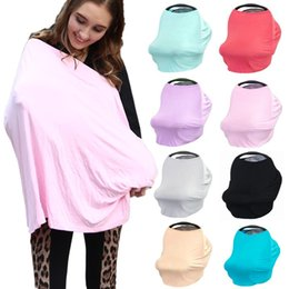 Discount scarf shopping - Baby Nursing Cover Infant Car Seat Canopy Breathable High Chair Trolley Cover Breastfedding Scarf Shopping Cart for Baby