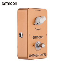 Discount vintage effects pedal - ammoon AP-03 Vintage Phase Phaser Guitar Effect Pedal True Bypass