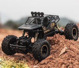 Rc Car Off Road Speed Canada - RC Car 2.4G 20KM H High Speed Racing Car Climbing Remote Control Electric Car Off Road Truck 1:18 RC drift