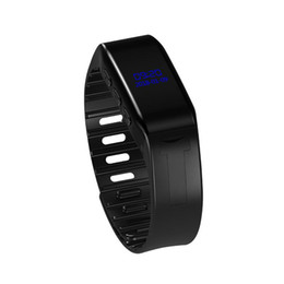 $enCountryForm.capitalKeyWord NZ - 8GB Smart Bracelet Recording Pen Professional Micro Intelligent Display Watch Sports HD Noise Reduction Remote Voice Control Mp3