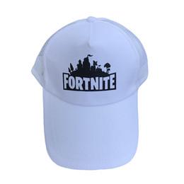 091de253d0a Cotton Fortnite Trucker Cap Hat Baseball Mesh Hats Fortnite Battle Royale  Game Unisex Snapback Baseball Peaked Hat Adjustable