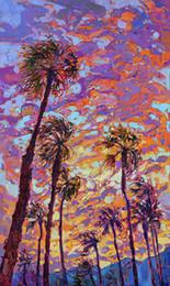 $enCountryForm.capitalKeyWord Australia - Artwork-sunset-dance Unframed Modern Canvas Wall Art for Home and Office Decoration,Oil Painting ,Animal painatings ,frame.