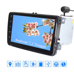 """Stereo Double Australia - Android 7.1 car GPS Navigation Stereo Double Din In Dash Multimedia Player 8"""" Head Unit 1080P Video SWC Bluetooth USD SD Port"""