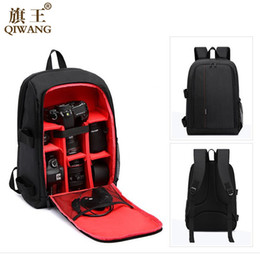 Dslr Camera Backpacks Australia - Camera Backpack DSLR Waterproof Bag Multi-functional Digital Camera Bag Backpack Video Case Shockproof With Rain Cove
