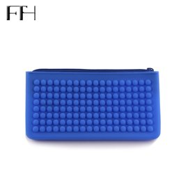 Silicone wallet zipper online shopping - Practical Unisex Silicone waterproof Long Clutch Wallet Housekeeper s Casual Cheap phone Key Coin Purses Pencil Bag for Students