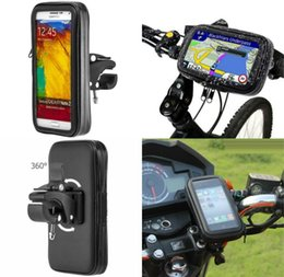 5.5 inch phones gps 2019 - WELLENDORFF Universal Bike Motor Phone Holder Waterproof Phone Bag Motorcycle Bicycle Handlebar 5-5.8 inch SmartPhones G