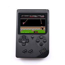 Discount pocket game console - Retro Portable Mini Handheld Game Console 8-Bit 3.0 Inch Color LCD Kids Color Pocket Game Player 168 Nostalgic Games for